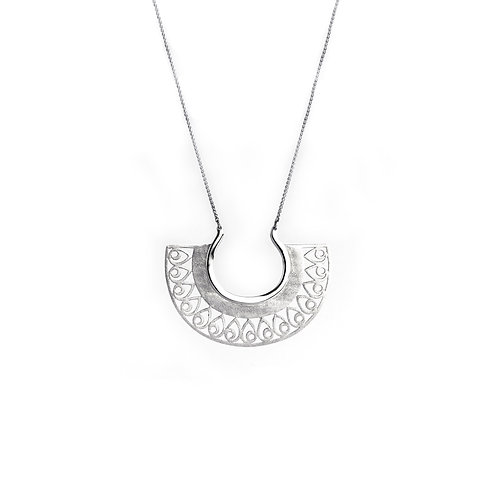 Hera Small Necklace | Sterling Silver 925°