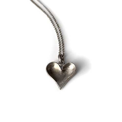 Inner Heart Necklace | Silver 925°