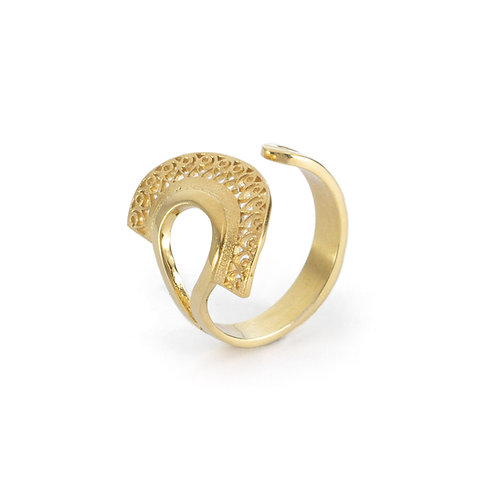 Hera Ring | Gold Plated Sterling Silver 925°