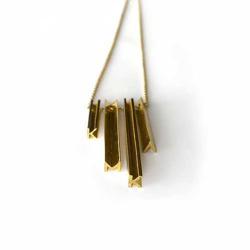 Secret Names Necklace | Gold Plated Silver 925°