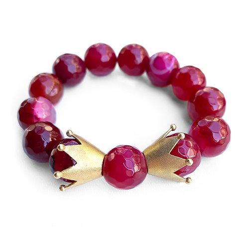 Bracelet | Agate stones & Silver 925