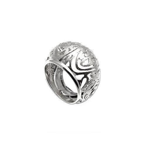 Δαχτυλίδι Pump | Ασήμι 925°