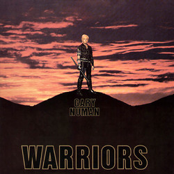 Gary Numan - Warriors album cover
