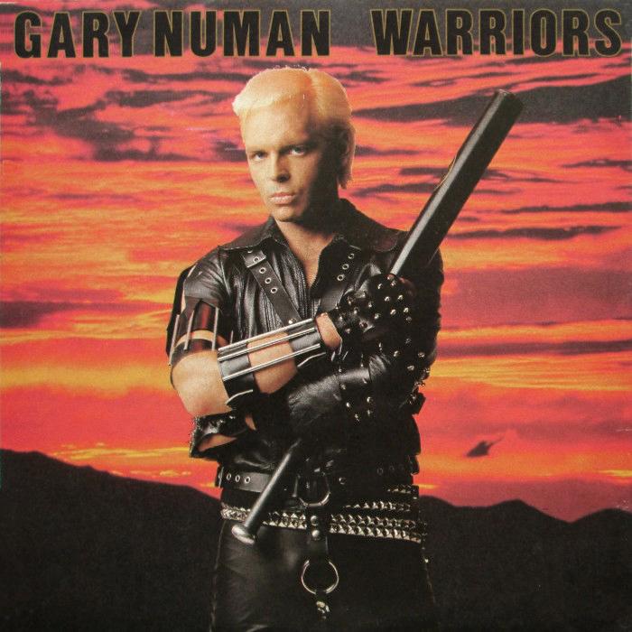 Gary Numan - Warriors single cover