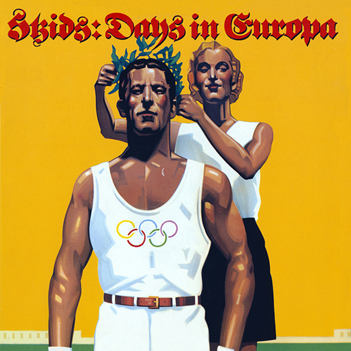 Skids - Days in Europa original cover