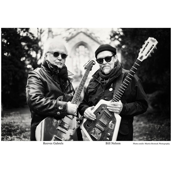 Promo pic of Bill Nelson & Reeves Gabrels