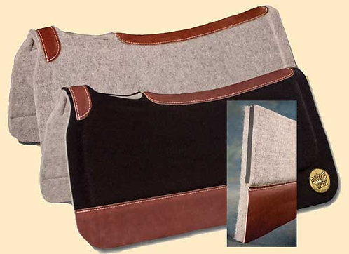 Bayou West In-Set Wool Felt and Neoprene Pad