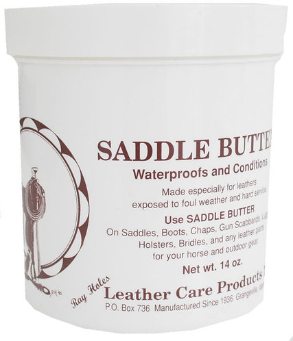 Ray Holes Saddle Butter-14oz