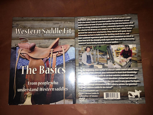 Western Saddle Fit DVD