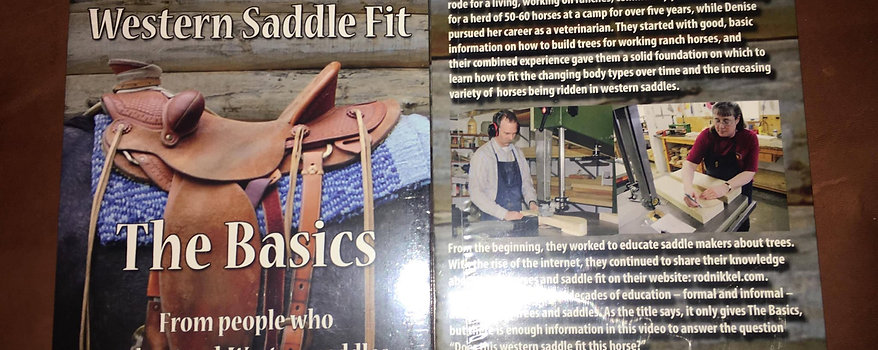 Western Saddle Fit DVD