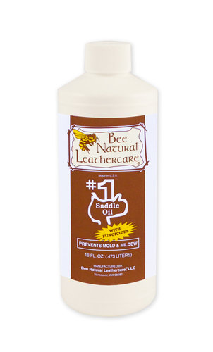 Bee Natural Saddle Oil with Fungicides - 16oz