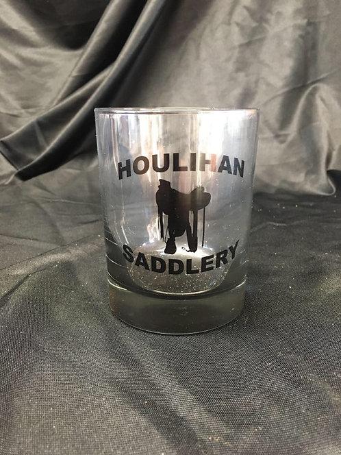 Houlihan Saddlery 13.5 oz Rocks Glasses