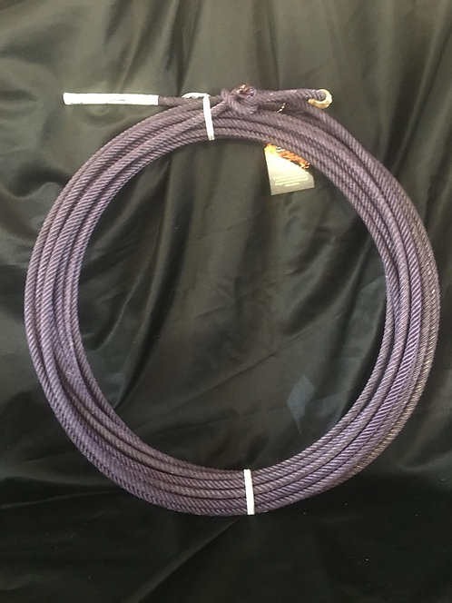 """Purple Chaos 5 Strand Ranch Rope 3/8"""" Super Scant"""