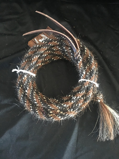 JT Silversmith 2 Rein Mane Hair Mecate