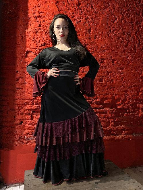 Conjunto de falda + blusa