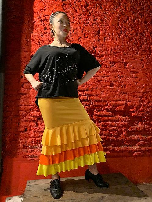 Falda en jersey set