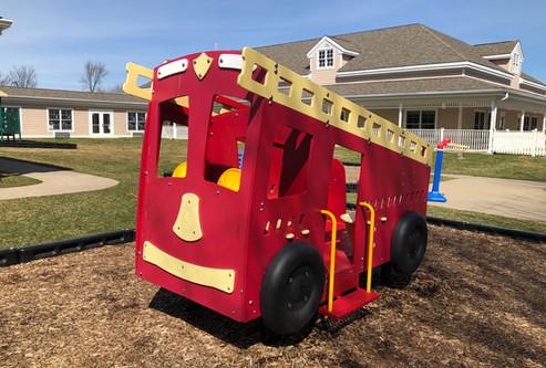 Little Lambs Fire Truck