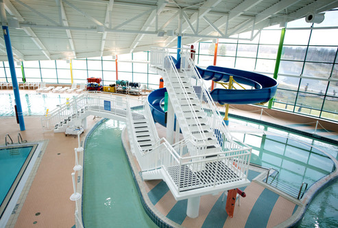 Water Slide and Lazy River