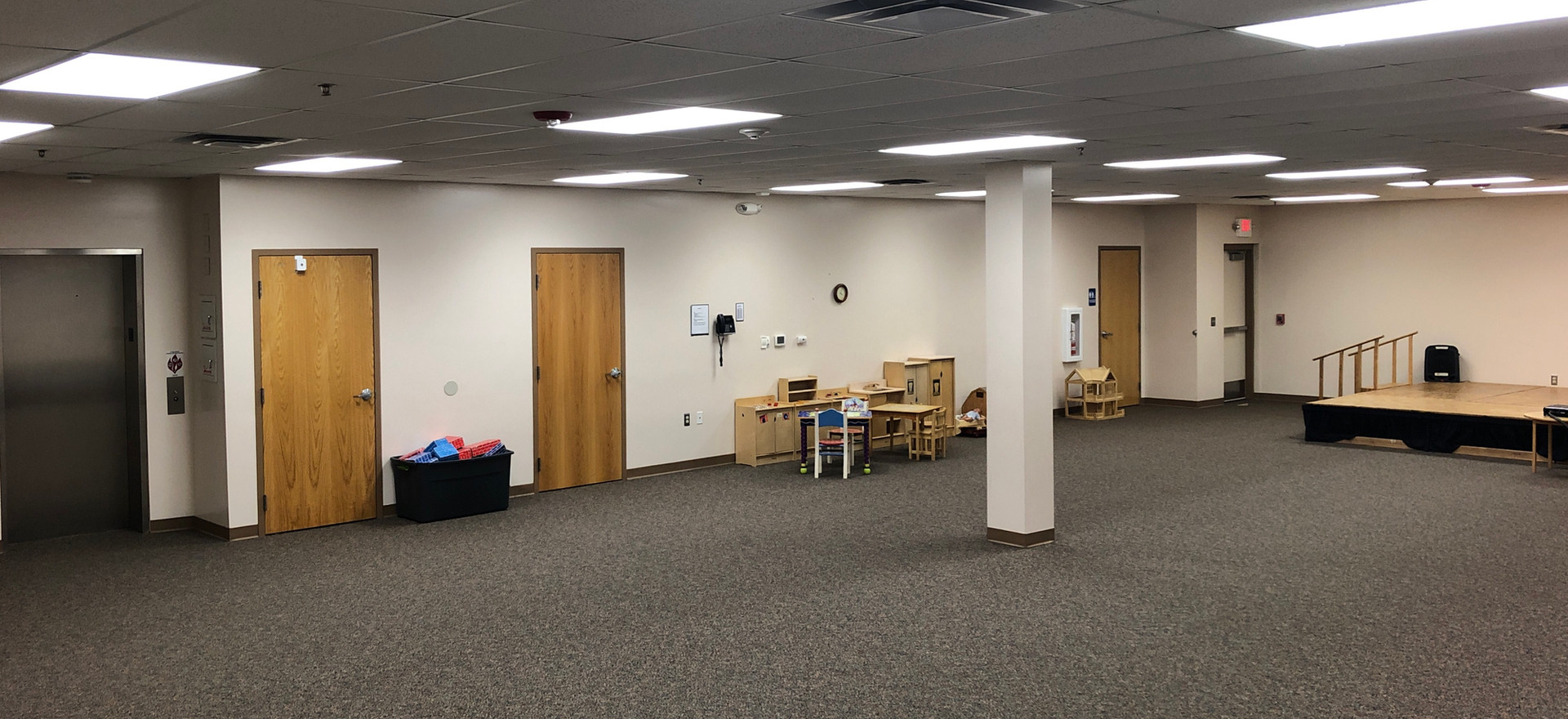Activity Room and Storm Shelter