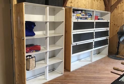 Lunch Shelves
