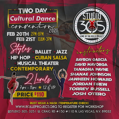 ONLINE FILE TWO DAY DANCE CONVENTION FEB