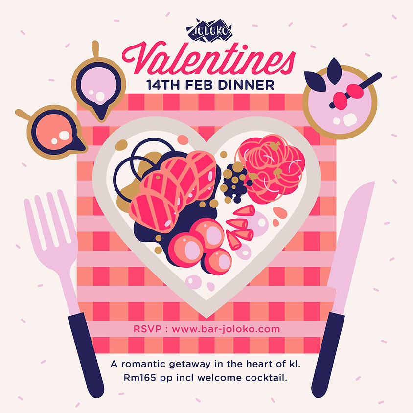 Valentine's Dinner at Joloko