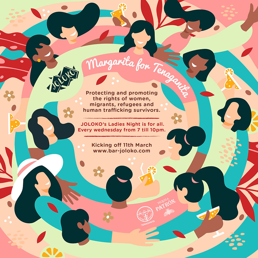 Joloko Ladies Night: Margarita for Tenaganita