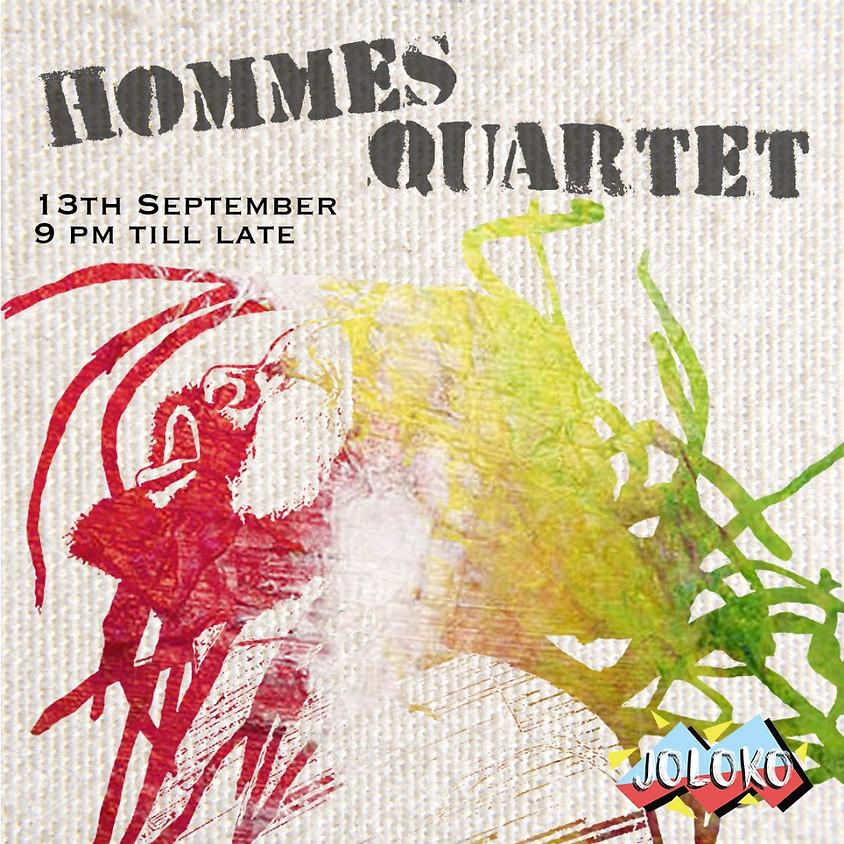 Hommes Quartet Live!