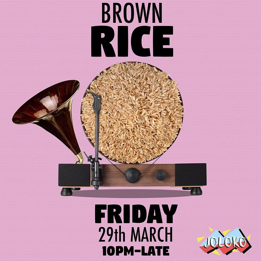 Brown Rice at JOLOKO
