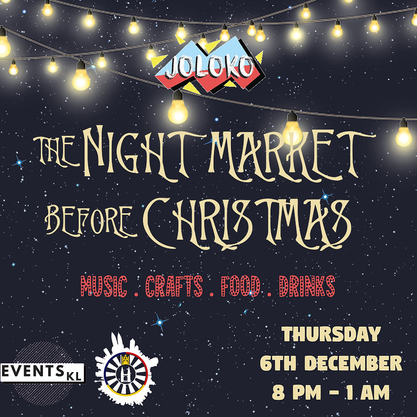 JOLOKO's The Night Market Before Christmas