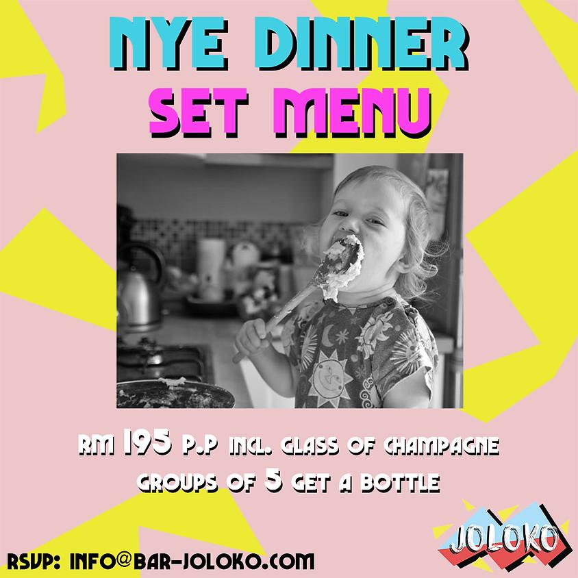 NYE: Dinner