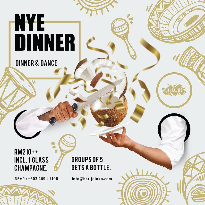 2020 - NYE DINNER