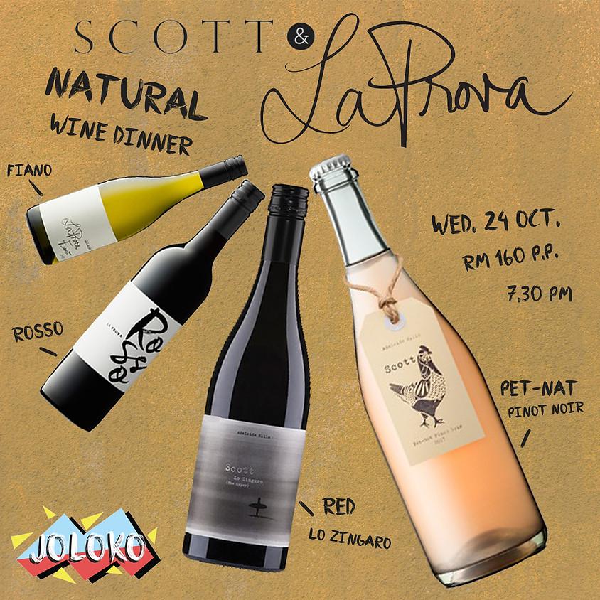 Natural Wine Dinner x SCOTT & La Prova