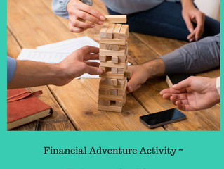 Financial Adventure Kids Understanding Risks Activity