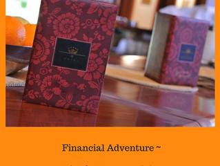 Financial Adventure Mindful Menu Activity