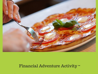 Financial Adventure Pizza Battle - Homemade VS Take-Out Activity