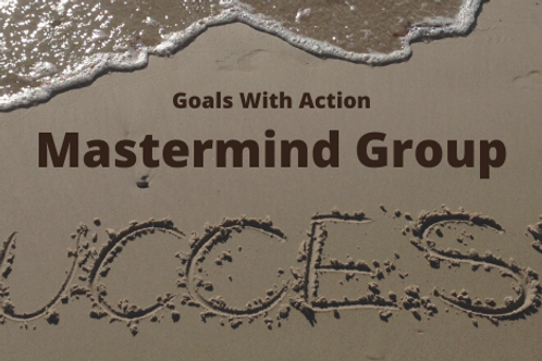 Goals With Action Monthly Mastermind Fee