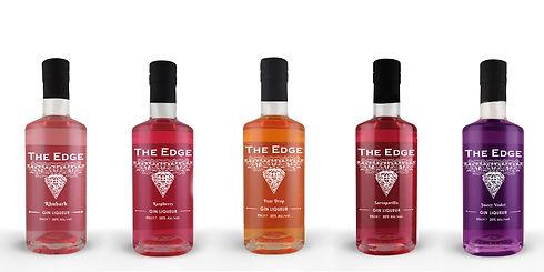 The Edge Gin Liqueurs