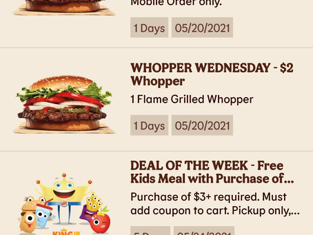 Don't miss out on free food! - Restaurant rewards programs