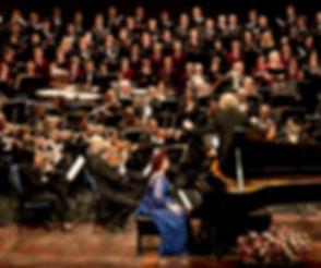 Beethoven Choral Fantasy - Mustonen and Rishon Lezion Orchestra