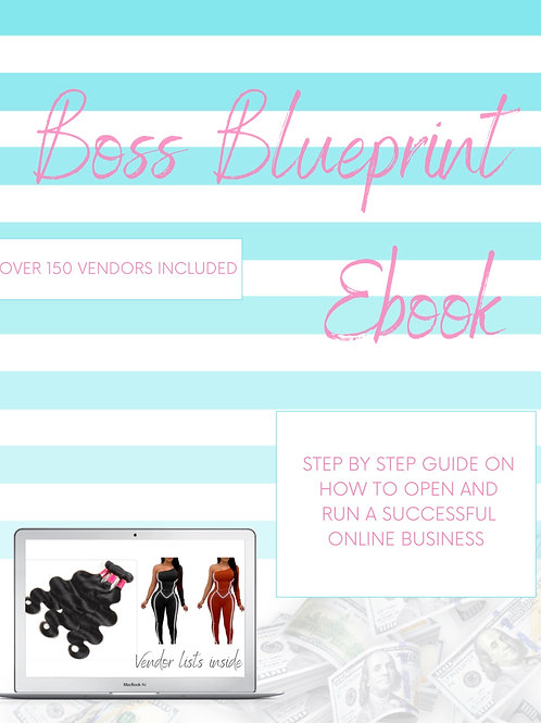 The Boss BluePrint Ebook and Vendors