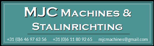 Logo MJC Machines & Stalinrichting + con