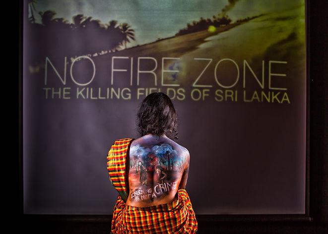 No fire zone_ documentary_activist art .