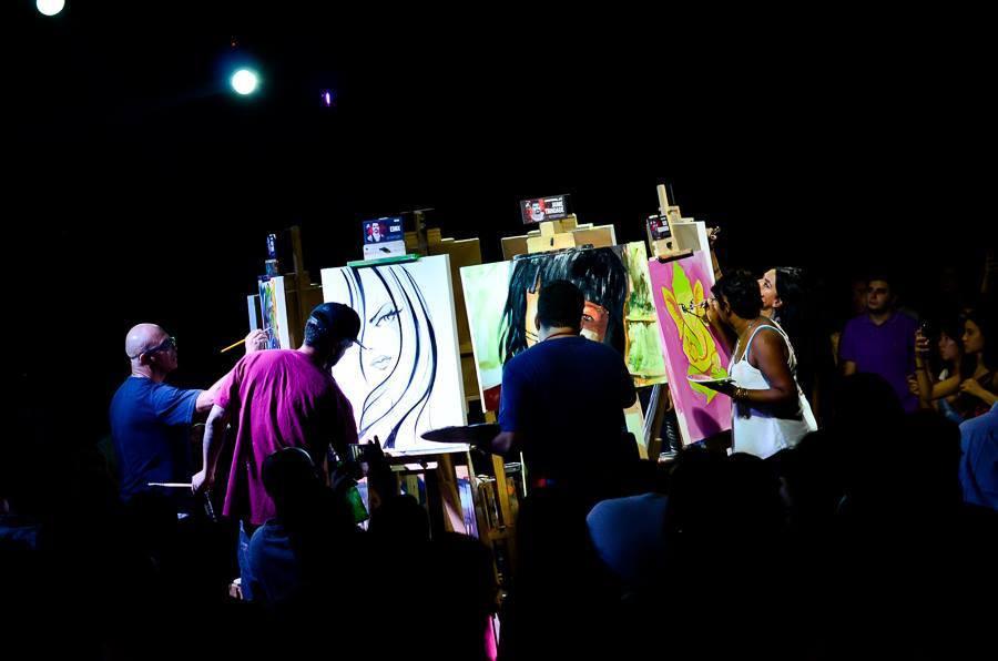 art battle malaysia performance publika
