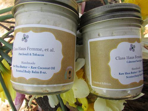 2 Medium Essential Oil Blend Body Balms | Pick Your Fragrance | 8oz.