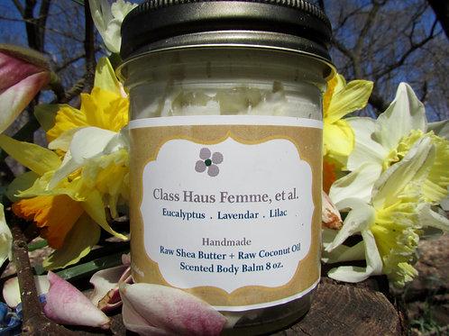 Eucalyptus. Lavender. Lilac | Whipped Body Balm 8oz. | Essential Oil Blend