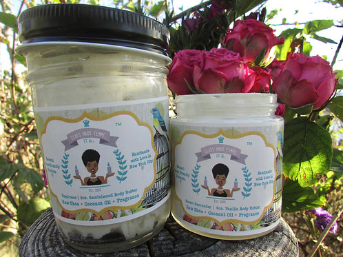 2 Mixed Body Butters | Pick Your Fragrance |  4oz. & 8oz. Body Butter