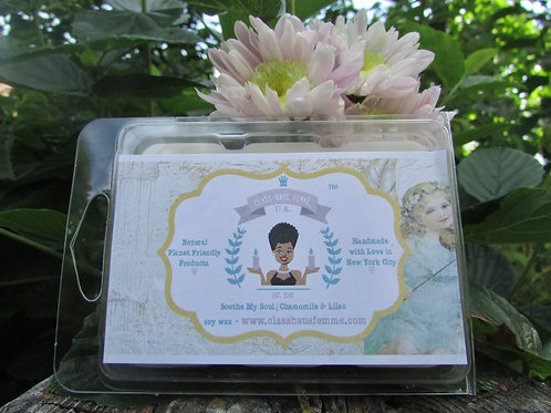 Soothe My Soul | Chamomile and Lilac | Soy Wax Melt