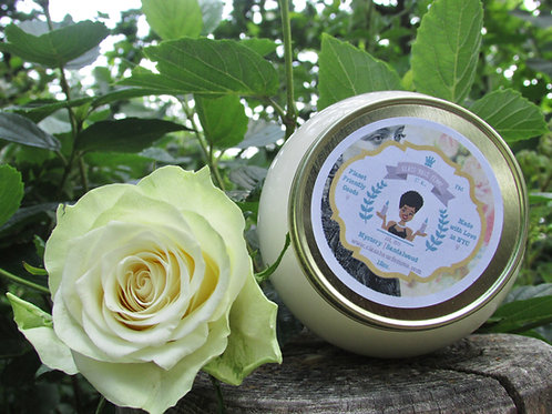 Mystery | Sandalwood | 12oz. Globe Jar Soy Candle
