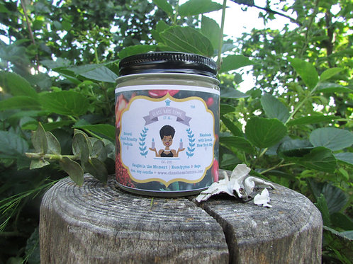Caught in the Moment | Eucalyptus and Sage | 4oz. Soy Candle